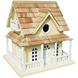Home Bazaar Cape May Cottage Birdhouse, Yellow