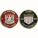 The Official U.S. Soccer Centennial Flip Coin