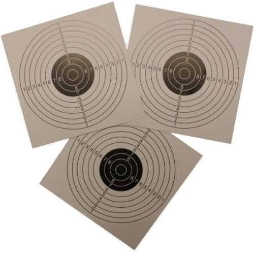 WOODSIDE 1000PC 14CM AIR RIFLE SHOOTING PAPER CARD TARGETS AIRSOFT PISTOL PRACTICE