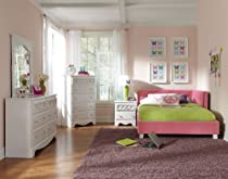 Hot Sale Standard Furniture My Room 5 Piece Daybed Bedroom Set In Pink