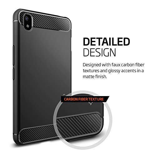 innovative design 2548b ea57e Spigen OnePlus X Case Cover [ One Plus X ] Case Cover Rugged Armor (Black)  SGP11819
