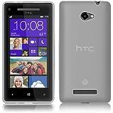 PrimaCase - Weiß - TPU Silikon Case für HTC Windows Phone 8X