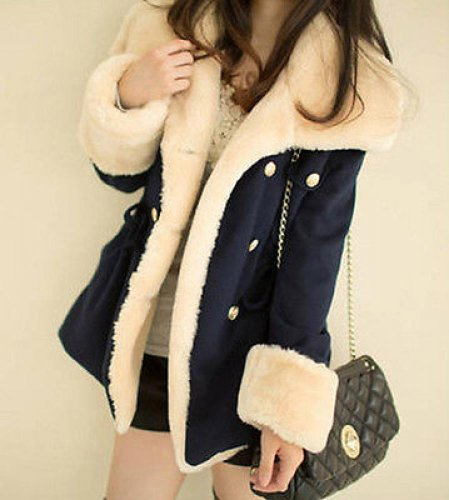 Winter Clothes Loose In The Long Paragraph Slim Coat