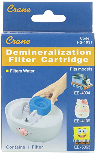 Crane Demineralization Filter Cartridge for Crane Spongebob, Hello Kitty and Thomas the Tank Cool Mist Humidifiers (Demineralization Cartridge Crane compare prices)