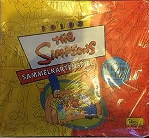 Simpsons Trading Card Game Serie 1 Display, deutsch