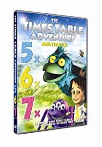 Times Table Adventure : 5X, 6X and 7X Multipack [DVD]