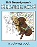 Service Dogs: a coloring book