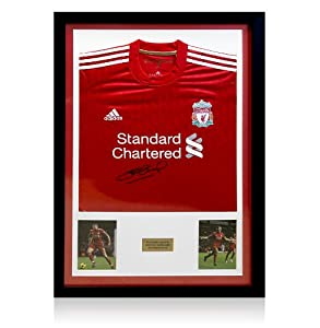 Liverpool Framed 201112 Shirt Signed By Steven Gerrard by A1 Sporting Memorabilia