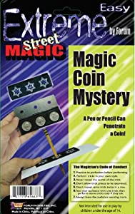 Forum Novelties Extreme Street Magic - Mystery Coin Trick