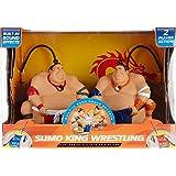 Blue Hat Sumo King Wrestling Head-2-Head Fighters One Size Multi