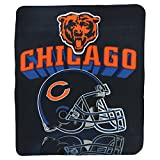 Northwest Chicago Bears Gridiron Fleece Throw