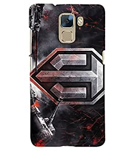 PRINTSHOPPII GAME Back Case Cover for Huawei Honor 7