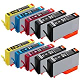 Valuetoner Remanufactured Ink Cartridge Replacement for New Generation Hewlett Packard HP 564XL, 10 Pack (4 Black, 2 Cyan, 2 Magenta, 2 Yellow)