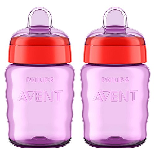Philips AVENT My Easy Sippy 9 Ounce 2 Pack - Purple