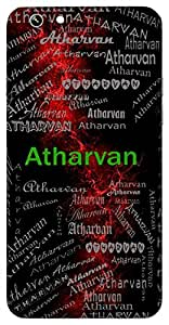 Atharvan (Knower Of The Arthara Vedas) Name & Sign Printed All over customize & Personalized!! Protective back cover for your Smart Phone : Moto G-4-PLAY