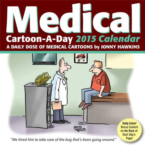 Medical Cartoon-a-Day 2015 Calendar
