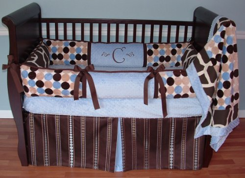 Retro Crib Bedding