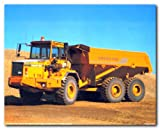 Volvo BM 6x6 A30 Heavy Duty Dump Truck Art Print Poster (8x10)