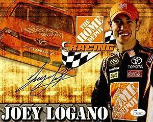 Buy Joey Logano # 20 Home Depot Racing Team Autographed 8x10 NASCAR Photo JSA COA