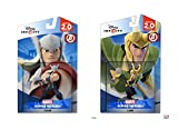 Disney Infinity Thor and Loki Marvel Avengers Super Heroes 2.0 Bundle - Not Machine Specific