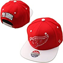 Detroit Red Wings Zephyr NHL Refresh Snapback Hat (Red/White)