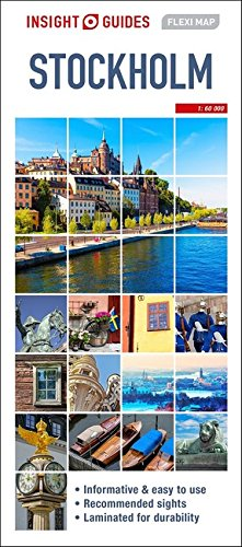 Insight Guides Flexi Map Stockholm (Insight Flexi Maps) [Guides, Insight] (Tapa Dura)
