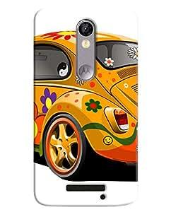 FurnishFantasy 3D Printed Designer Back Case Cover for Motorola Moto X force