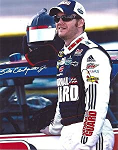 Autographed Dale Earnhardt Jr. Picture - 11X14 COA - Autographed NASCAR Photos by Sports Memorabilia