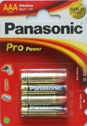Panasonic pro power alkaline aaa Batterien, Panasonic pro power alkaline aaa Batterien