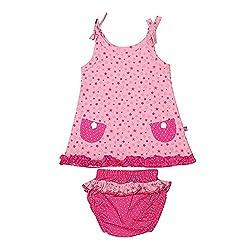 Buzzy Baby-Girls' Dress (Pink,9-12M)