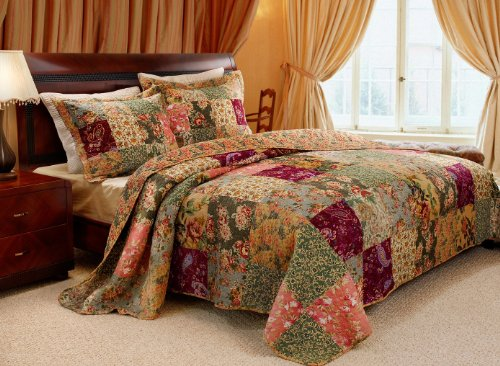 For Sale! Greenland Home Antique Chic King 3-Piece Bedspread Set