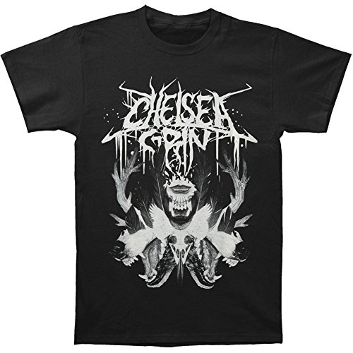 Michaner Walosde Chelsea Grin Men's Wolf Lady T-shirt Black X-Large
