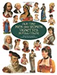 Old-Time Men and Women Vignettes in F...