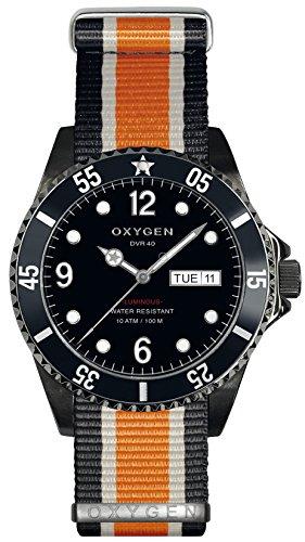 OXYGEN EX-D-MBB-40-NN-BLIVOR - Reloj de pulsera unisex, nailon, color multicolor