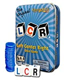 LCR LEFT CENTER RIGHT BLUE TIN