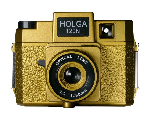 Find Cheap Holga 180120 Oscar Holgawood Collection Plastic Camera (Gold)