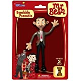 Mr. Bean British Comedian Bendable Poseable Action Figure by NJ Croce [Toy]