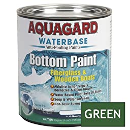 1 - Aquagard Waterbased Anti-Fouling Bottom Paint - 1Qt - Green