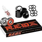 Bones Bearings Reds Bearings (8 Pack w/ Spacers & Washers & Speed Cream)