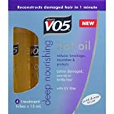 VO5 Nourish My Shine Hot Oil - 15 ml, Pack of 4