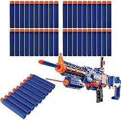 Hero Neo 100 Pcs Toy Gun Refill Foam Soft Darts Bullet For Nerf N Strike Series Blasters 7.2x1.2cm Model: , Toys & Games For Kids & Child