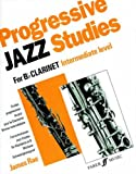 img - for Progressive Jazz Studies for B-flat Clarinet, Bk 2 (Faber Edition) book / textbook / text book