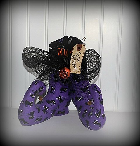 [Halloween Witch Boots Shoes, Seasonal Table Decor, Free Shipping] (Halloween Free Shipping)