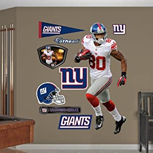 NFL New York Giants Victor Cruz Running Wall Graphics by Fathead