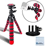 "12"" Inch Flexible Tripod w/ Wrapable..."