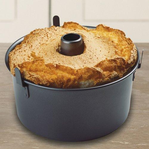 Chicago Metallic Professional Nonstick Angel Food Cake Pan With Feet