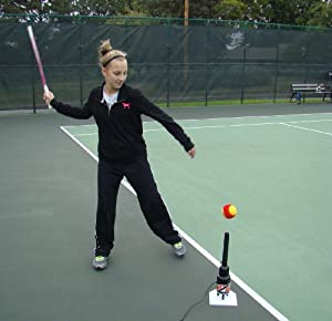Buy Hit Zone Jr Tennis Air Tee - HZ-T500 - Balls Floats In Mid-Air! by Hit Zone