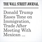 Donald Trump Eases Tone on Immigration, Trade After Meeting With Mexican President Enrique Peña Nieto | Reid J. Epstein,Janet Hook,David Luhnow