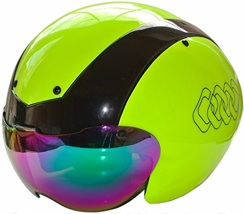 12-x-Farben-C-Originals-G14-Aero-Road-Fahrrad-Cycling-Time-Trial-Triathlon-TT-Track-Race-Helm-2-x-Schild-mehrfarbig-schwarz-gelb-SM-54cm-58cm
