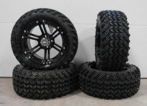 Bundle - 9 items: Madjax Nitro Black Golf Wheels 14